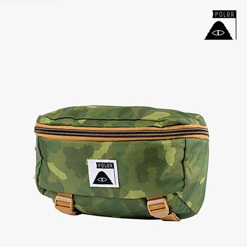 폴러 스터프 ROVER BAG - GREEN FURRY CAMO