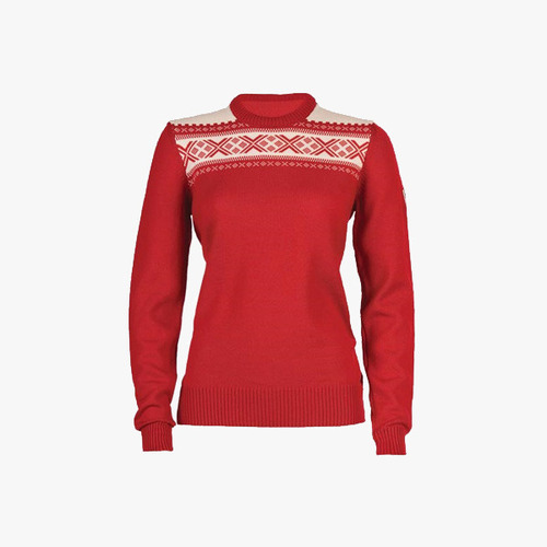 데일 오브 노르웨이 Dale Of Norway 헴세달 여성용 스웨터 - Raspberry  HEMSEDAL Feminine Sweater - Raspberry