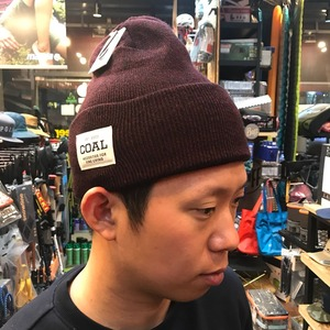 콜 COAL 17FW The Uniform Dark Burgundy Marl