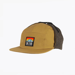 콜 Coal 19FW The Paradise Cap Golden Brown