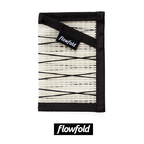 플로우폴드 FLOWFOLD MINIMALIST CARD HOLDER WHITE
