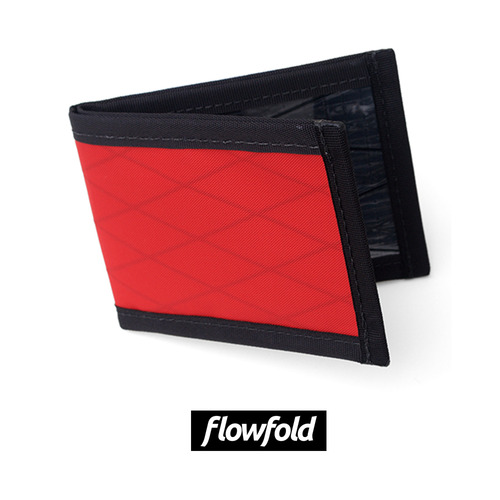 플로우폴드 FLOWFOLD VANGUARD WALLET LTD BICYCLE RED
