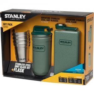 스탠리 어드벤쳐 플라스크/샷글라스 선물세트 식기세척기 사용가능 아웃도어, 캠핑 매니아들에게 최적인 선물셋트